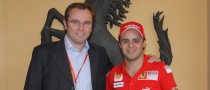 Felipe Massa Returns to Maranello