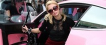 Female Stars Ride Hot Cars