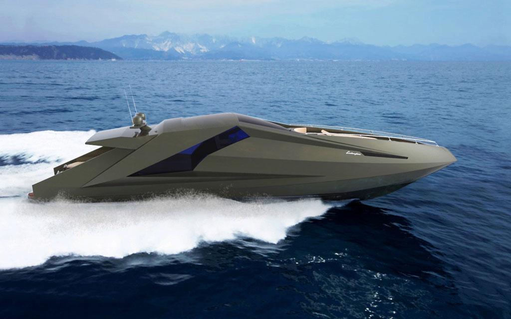 Fenice milano preparing lamborghini inspired yacht for Yacht design milano