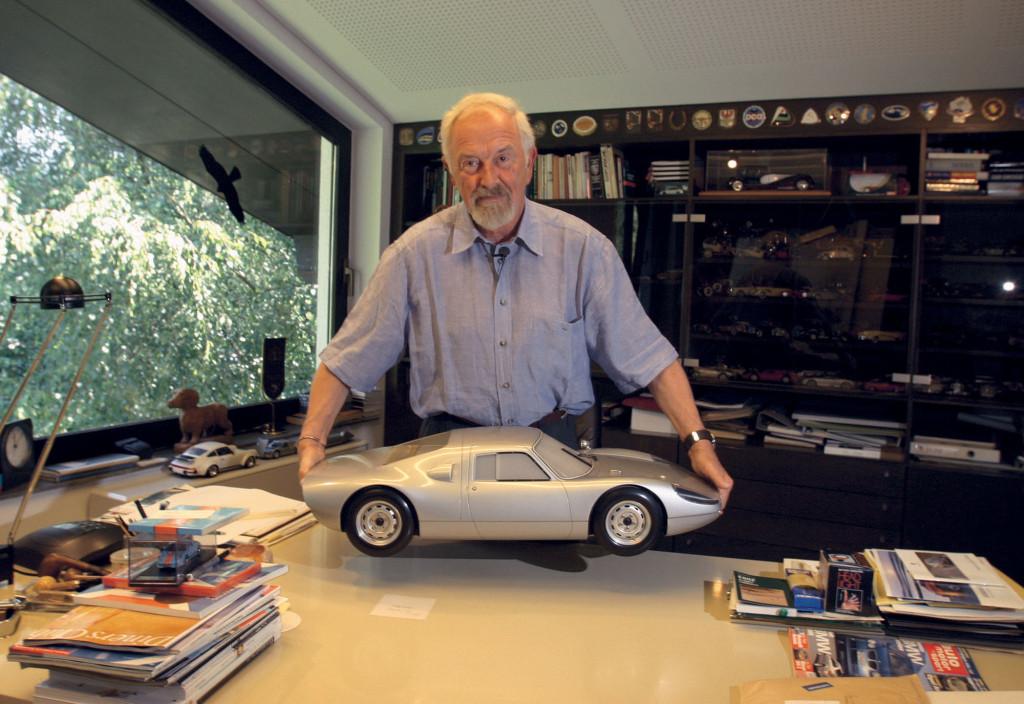 Ferdinand Alexander Porsche Celetes 75th Birthday - autoevolution on exotic porsche, martini porsche, silver porsche, joe rogan porsche, best porsche, steve mcqueen's porsche,
