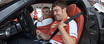 Fernando Alonso Helps Ferrari to Fine-Tune the LaFerrari [Video]