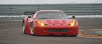 Ferrari 358 GTC Unleashed onto Fiorano Racetrack