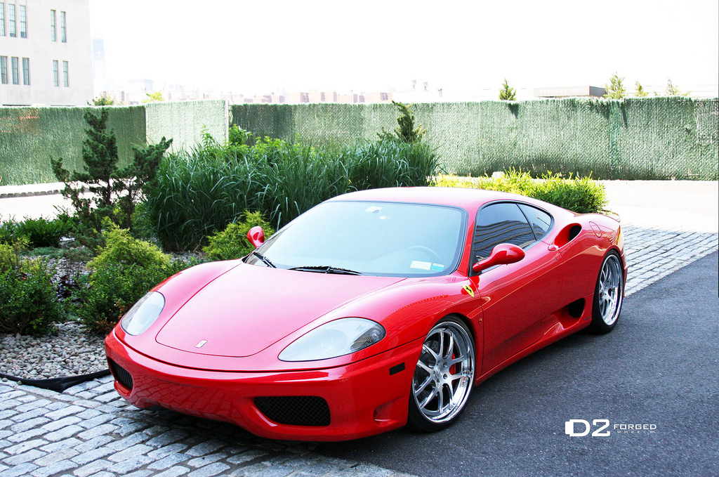 ferrari 360 modena on d2forged wheels autoevolution. Black Bedroom Furniture Sets. Home Design Ideas