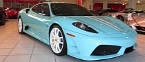 Ferrari 430 Scuderia in Tiffany Blue For Sale [Photo Gallery]