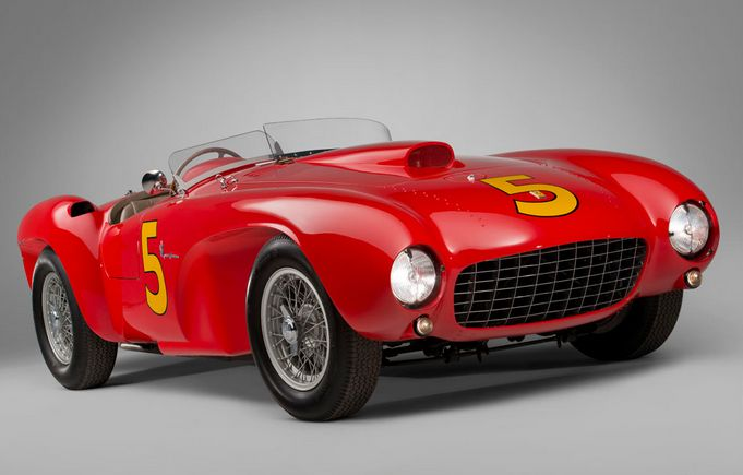 Ferrari 375 MM Spider Fetches $9 Million at Monterey Auction