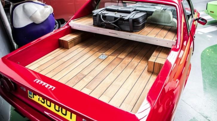 "Ferrari 412 Becomes a ""Pickup Truck Sports Car"""