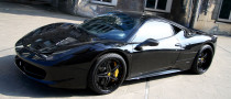 Ferrari 458 Black Carbon Edition Is Darth Vader's Supercar of Choice