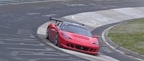 Ferrari 458 Challenge Crashes at the Nurburgring [Video]