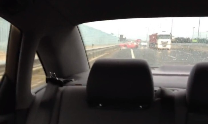 Ferrari 458 Crashed After Failed Overtaking Maneuver [Video]