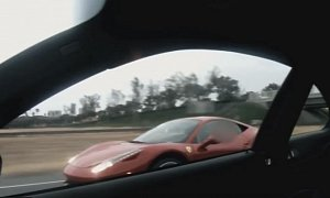 Ferrari 458 Drag Races Supercharged M3 Sleeper, Trolling Follows