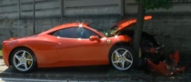 Ferrari 458 Italia Crash [Video]