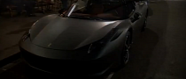 Ferrari 458 Italia Looks the Business in Matte Gray [Video]