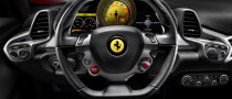 Ferrari 458 Italia New Pics, Interior Revealed