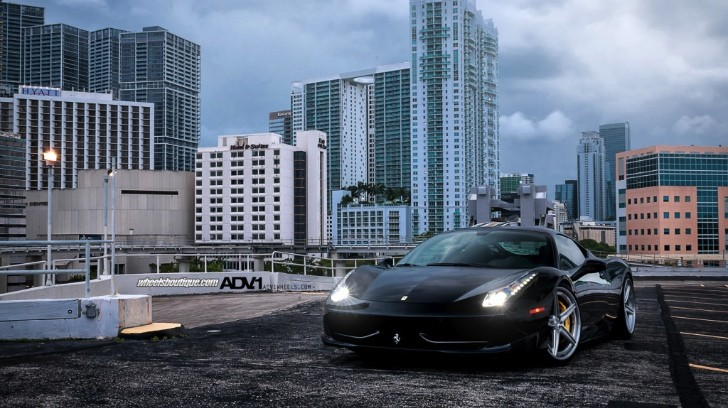 Ferrari 458 Italia on ADV.1 Wheels [Photo Gallery]