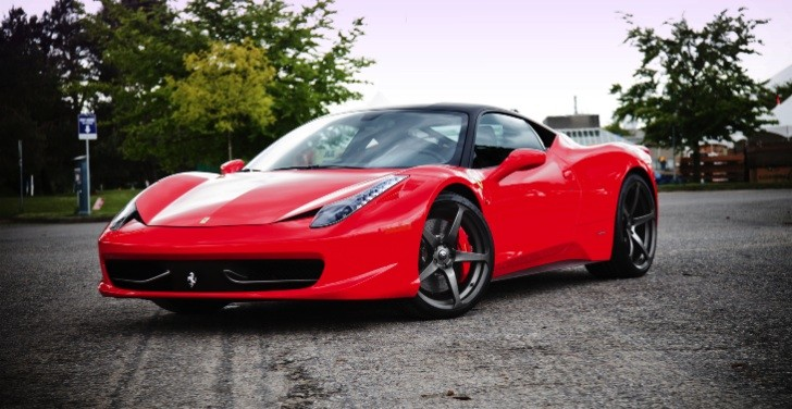 Ferrari 458 Italia on CEC Wheels by SR Auto