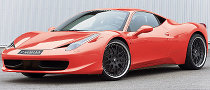 Ferrari 458 Italia Rides on Hamann Wheels