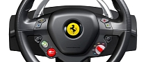 Ferrari 458 Italia Steering Wheel Recreated for Xbox 360
