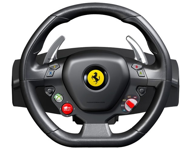 ferrari 458 italia steering wheel recreated for xbox 360 autoevolution. Black Bedroom Furniture Sets. Home Design Ideas