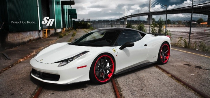 Ferrari 458 Project Ice Blade by SR Auto [Photo Gallery]
