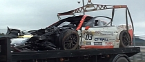 Ferrari 458 Racing Crash Aftermath [Video]