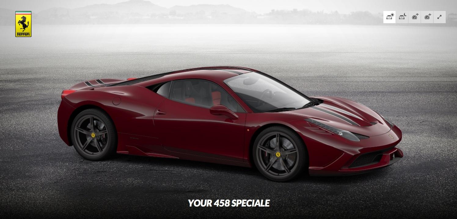 Ferrari 458 Spe...