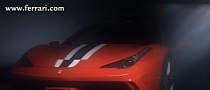 Ferrari 458 Speciale Gets Video Preview [Video]
