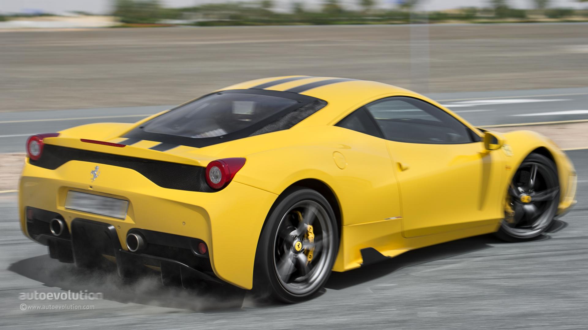 Ferrari 458 Speciale Tested Autoevolution
