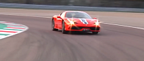 Ferrari 458 Speciale Track Tested by Ferrari's Raffaele De Simone [Video]