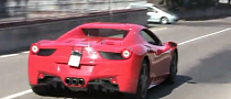Ferrari 458 Spider Real Life Video Footage