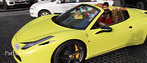 Ferrari 458 Spider Seats Family of Five [Video]
