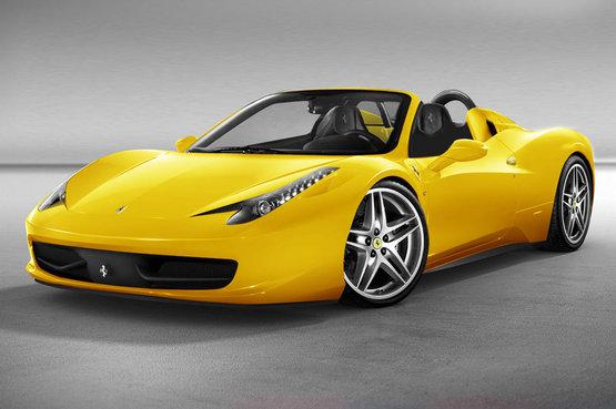 Ferrari 458 Spider Set For 2011 Frankfurt Auto Show Debut Autoevolution