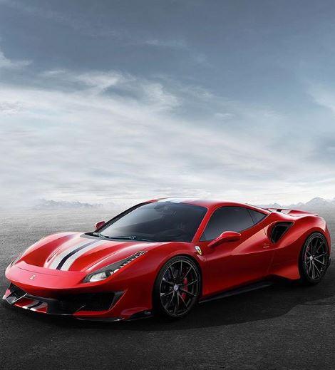 Ferrari 488 Pista Gets Hre Wheels In Aftermarket Fantastic Rendering Autoevolution