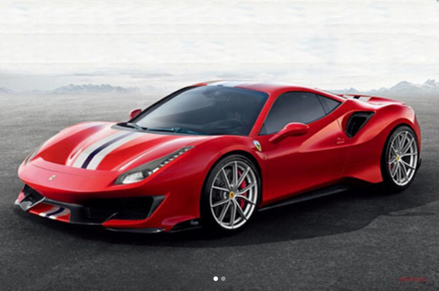Ferrari 488 Pista LEAKED pictures reveal car's aggressive design and incredible performanc