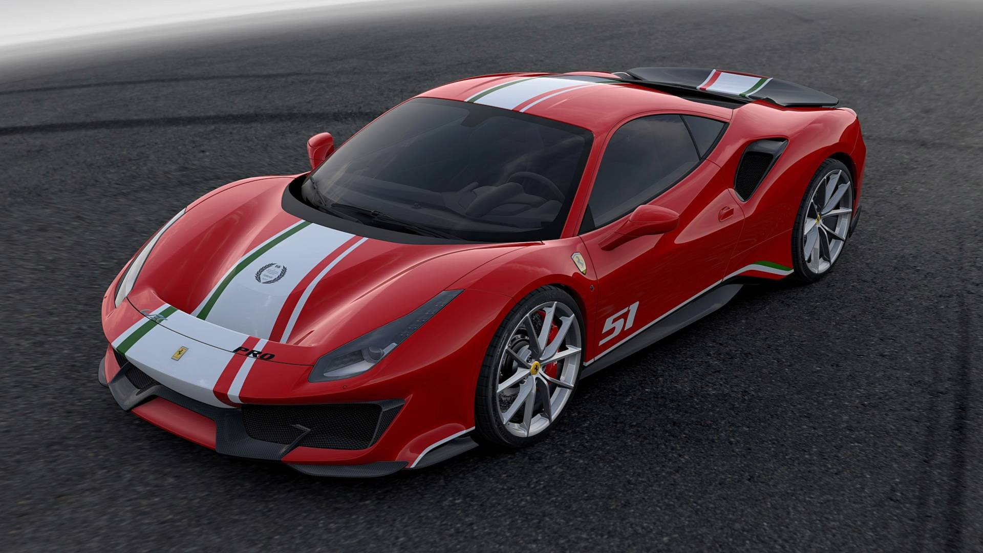Ferrari 488 Pista Piloti Isn't For the Average Joe