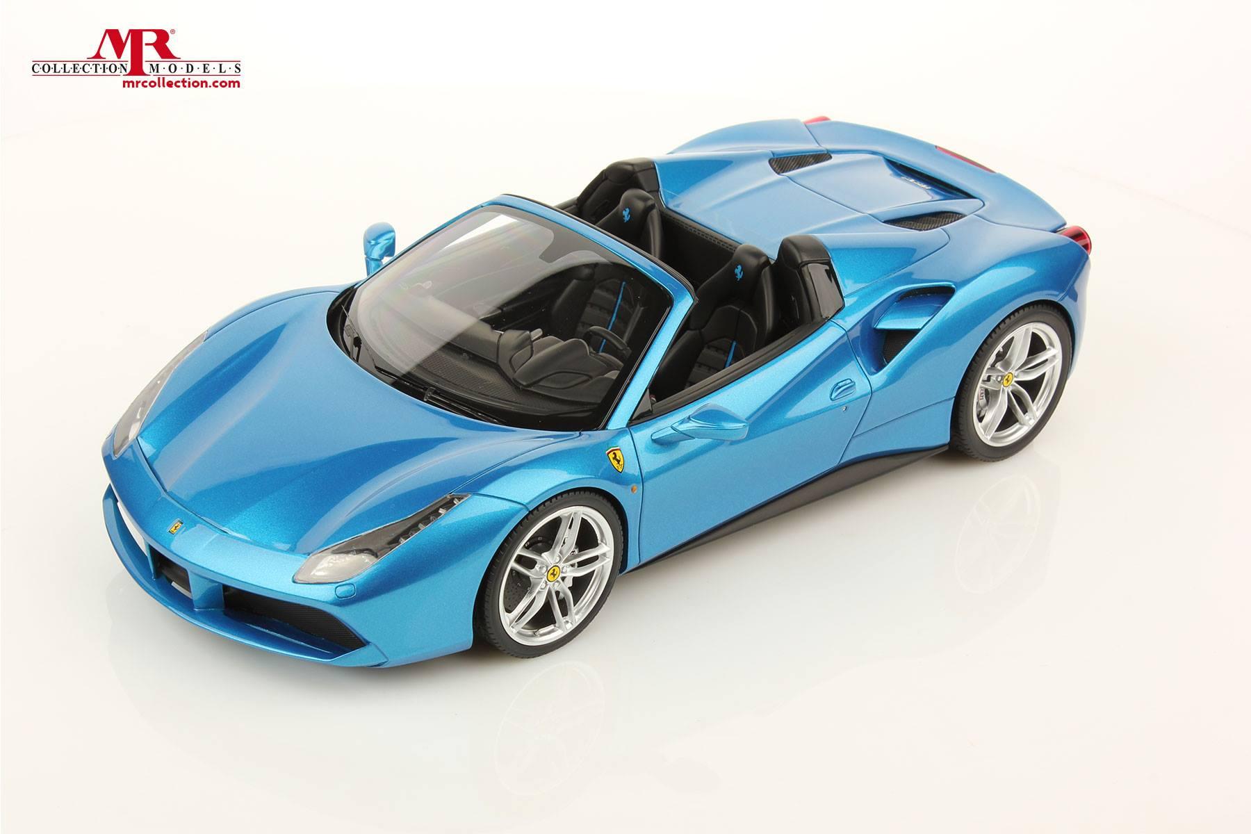 Ferrari 488 Spider 1 18 Scale Model Comes With The Appropriate Color Autoevolution