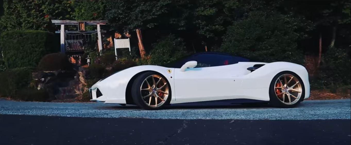 Ferrari 488 Spider Gets Hre Wheels Armytrix Titanium Exhaust