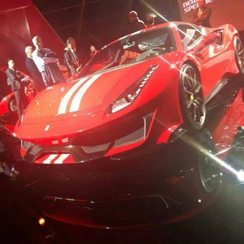 LEAKED: Feast Your Eyes On The Hardcore Ferrari 488 GTO
