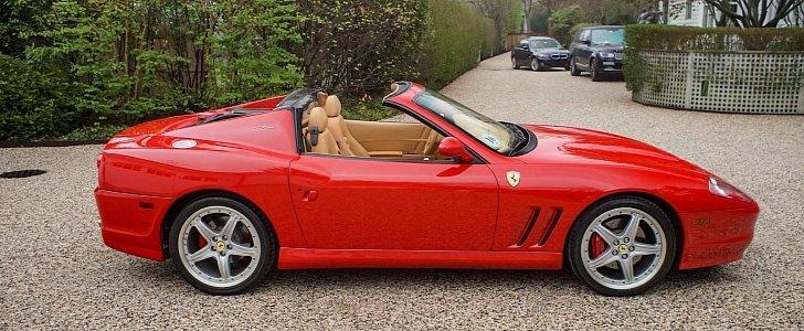 Ferrari 575m Superamerica Estimated To Fetch Up To 900000 At