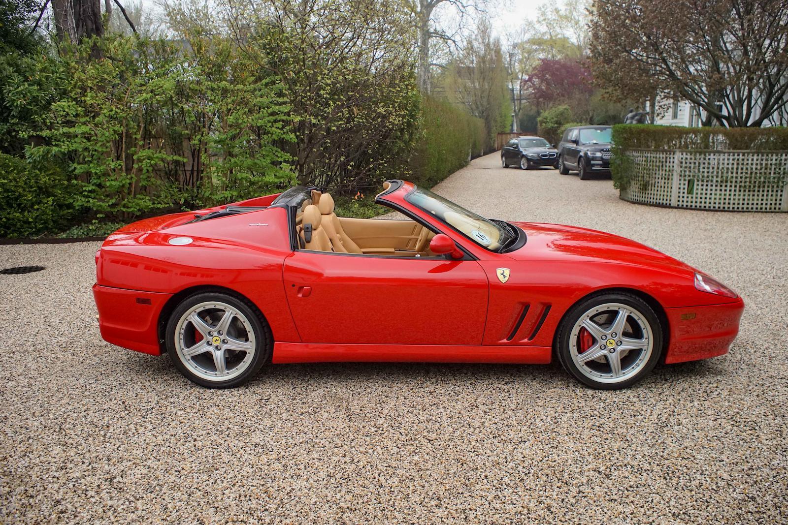 Ferrari 575m Superamerica Estimated To Fetch Up To 900 000 At Auction Autoevolution