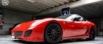 Ferrari 599 GTO Gets DPE Wheels [Photo Gallery]