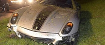 Ferrari 599 GTO Totaled in Munich