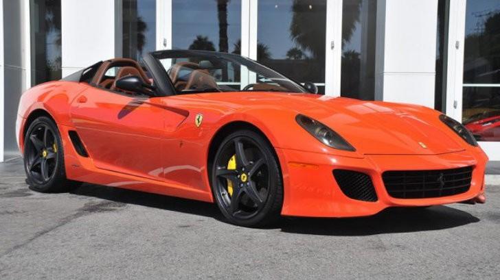Ferrari F12 Price >> Ferrari 599 SA Aperta For Sale in California - autoevolution