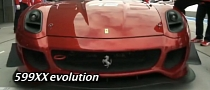 Ferrari 599XX Evolution Shakedown at Suzuka [Video]