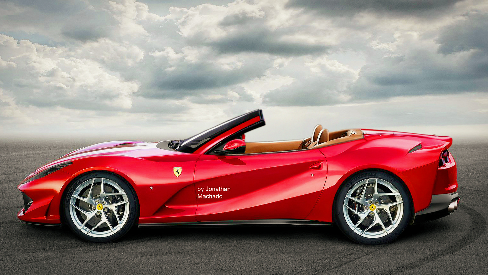 Ferrari 812 Spider Rendered Probably Won T Happen