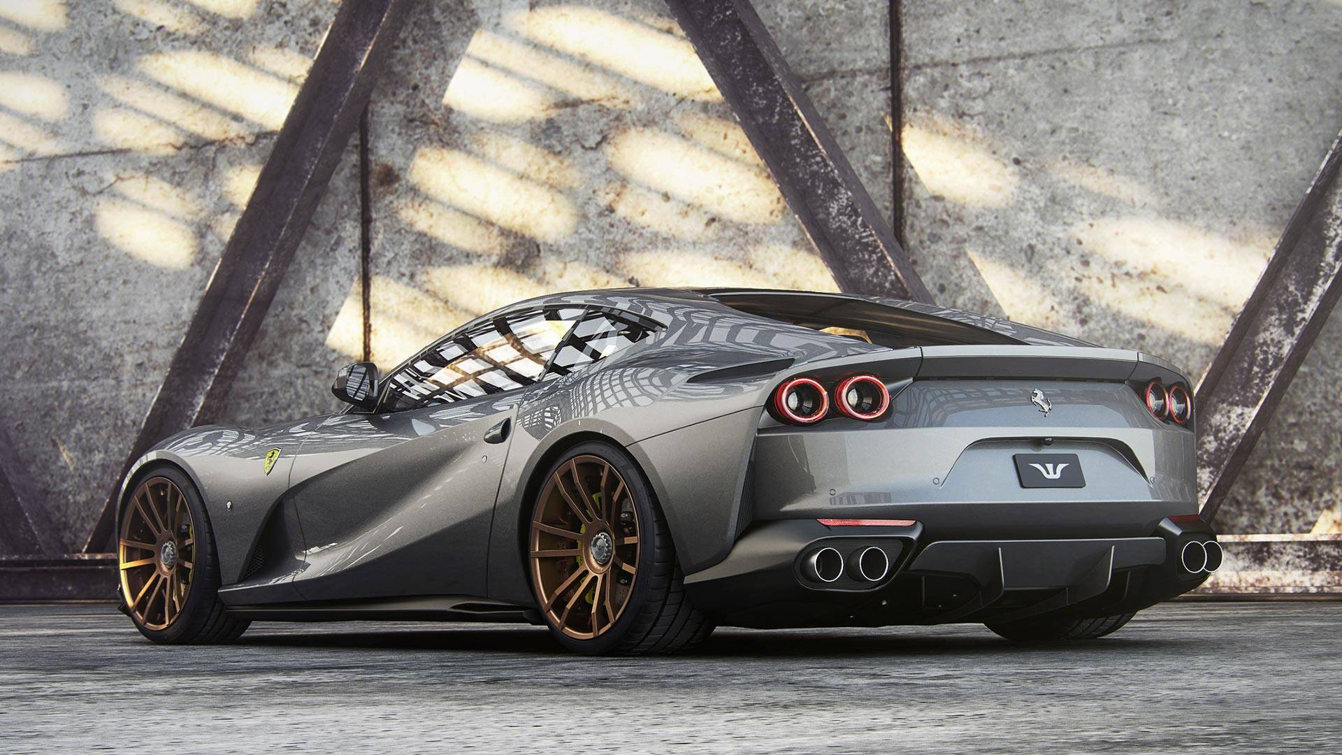 Ferrari 812 Superfast Becomes Superforte Thanks To Wheelsandmore Autoevolution