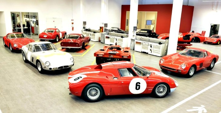 Ferrari Basks in the Success of the Classiche Division