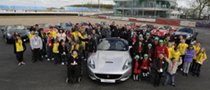 Ferrari California Charity Experience Held in the UK
