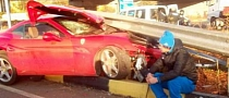 Ferrari California Crash: Footballer Drinks and Speeds