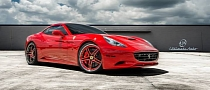 Ferrari California on Savini Wheels [Photo Gallery]