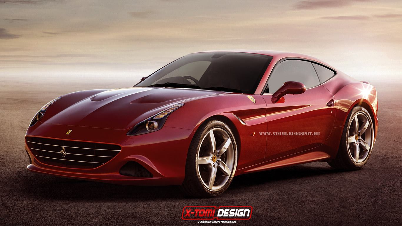 ferrari california t coupe looks rather good autoevolution. Black Bedroom Furniture Sets. Home Design Ideas